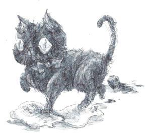Inktober 2015: Black Cat