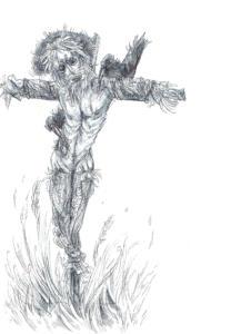 Inktober 2015: Scarecrow