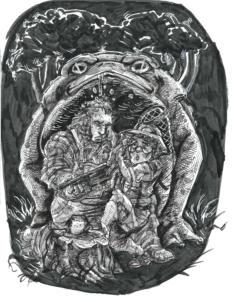 Inktober 2017: Toad