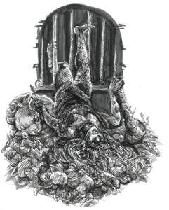 Inktober 2017: Sewer Settlers