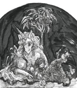 Inktober 2017: Unicorn
