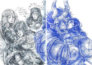 Platonic Sketches