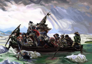 Kramer Crossing the Delaware