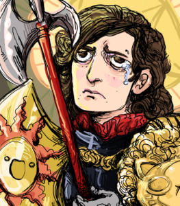 Me, a Knight