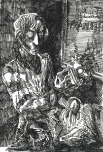 Inktober 2016: Mad Magician