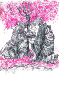 'Like Sakura Blossoms on the Wind'