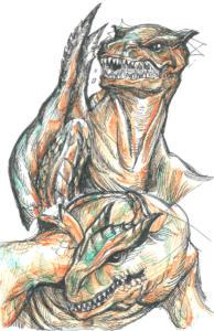 Tigrex Doodles