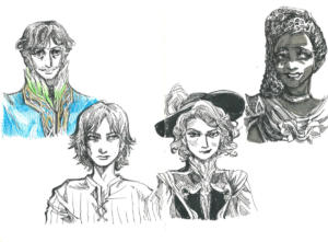 Witcher RPG Party Portraits!
