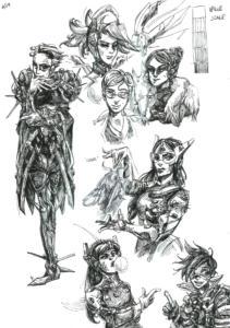 The Ladies of Overwatch