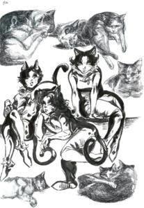 The Tuxedo Cats